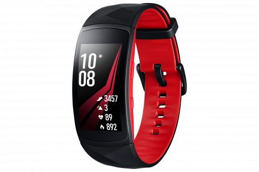 Samsung Gear Fit2 Pro Large - Red/Black