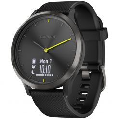 Garmin Vivomove HR Sport hybrid S/M - Sort