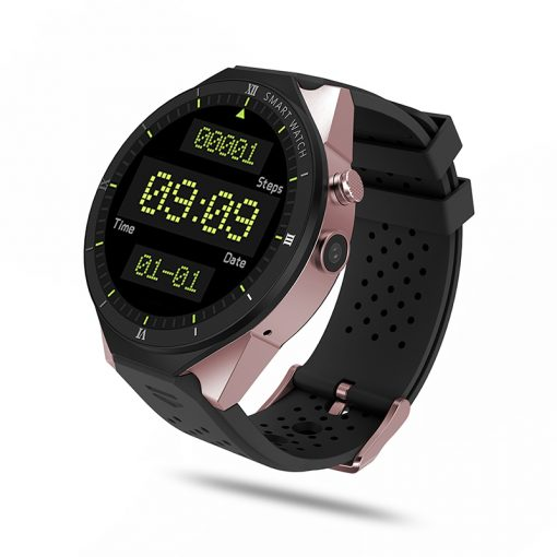 KW88 PRO - Android 7.0 GPS smartwatch - Guld