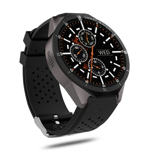 KW88 PRO - Android 7.0 GPS smartwatch - Sort