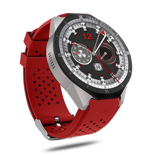 KW88 PRO - Android 7.0 GPS smartwatch - Rød