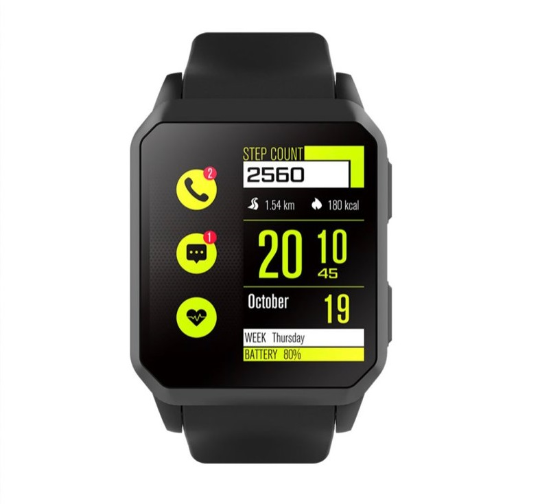 KW06 - 3G smartwatch med GPS - Sort
