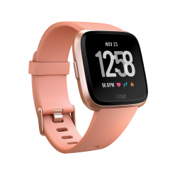 Fitbit - Versa Smart Watch - Grå Sølv