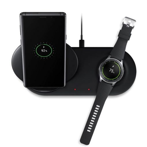 Samsung Wireless Charger Duo - Sort