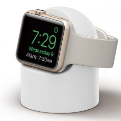 Mini lader holder til Apple watch - White