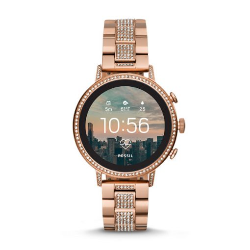 Fossil - GEN. 4. Smartwatch - VENTURE HR Rose Gold