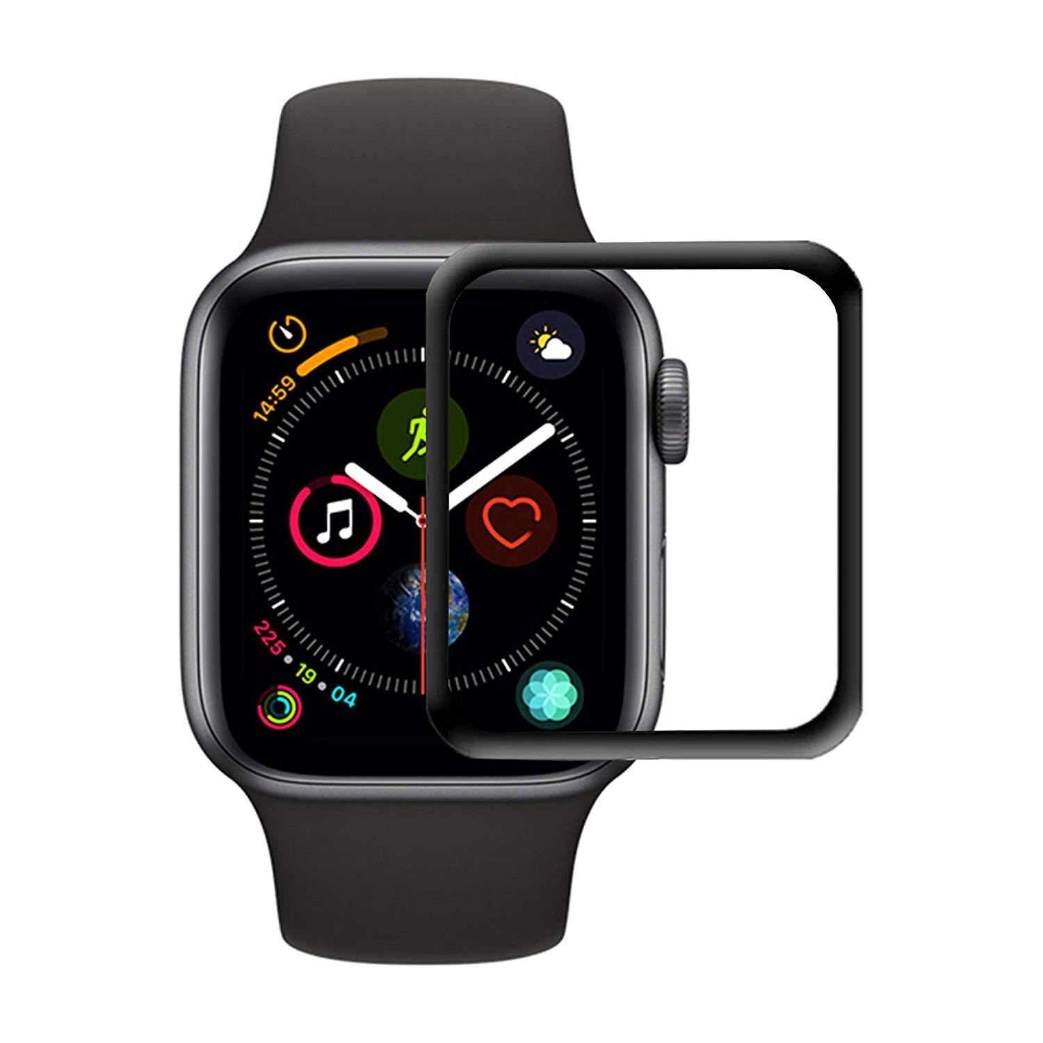 Apple Watch 42mm- Hærdet glas - styrke 9H
