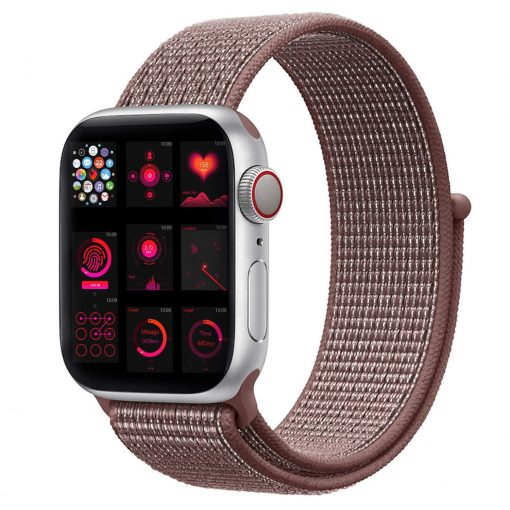 Vizore - Nylon rem til Apple Watch 42/44 mm - Smookey