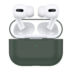 Cover til Apple AirPods Pro -Silikone - Pine green