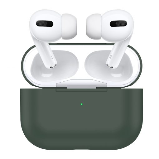 Cover til Apple AirPods Pro -Silikone - Midnight Green