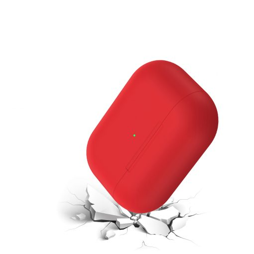Cover til Apple AirPods Pro -Silikone - Red