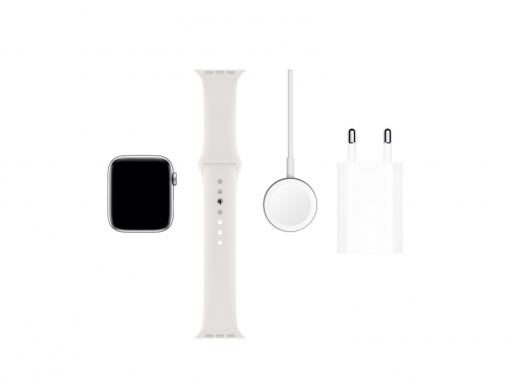 Apple Watch 44mm - Series 5 GPS+4G - Hvid