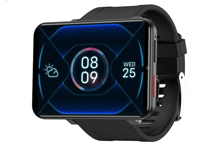 LEMT - 4G Andriod 7.1. Smartwatch (3+32GB) - Sort