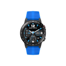 M5 - Built in GPS Smartwatch med BT opkald - Sort