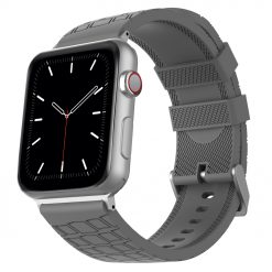 Motiv - Silikone til rem til Apple Watch 38/40 mm - Grey
